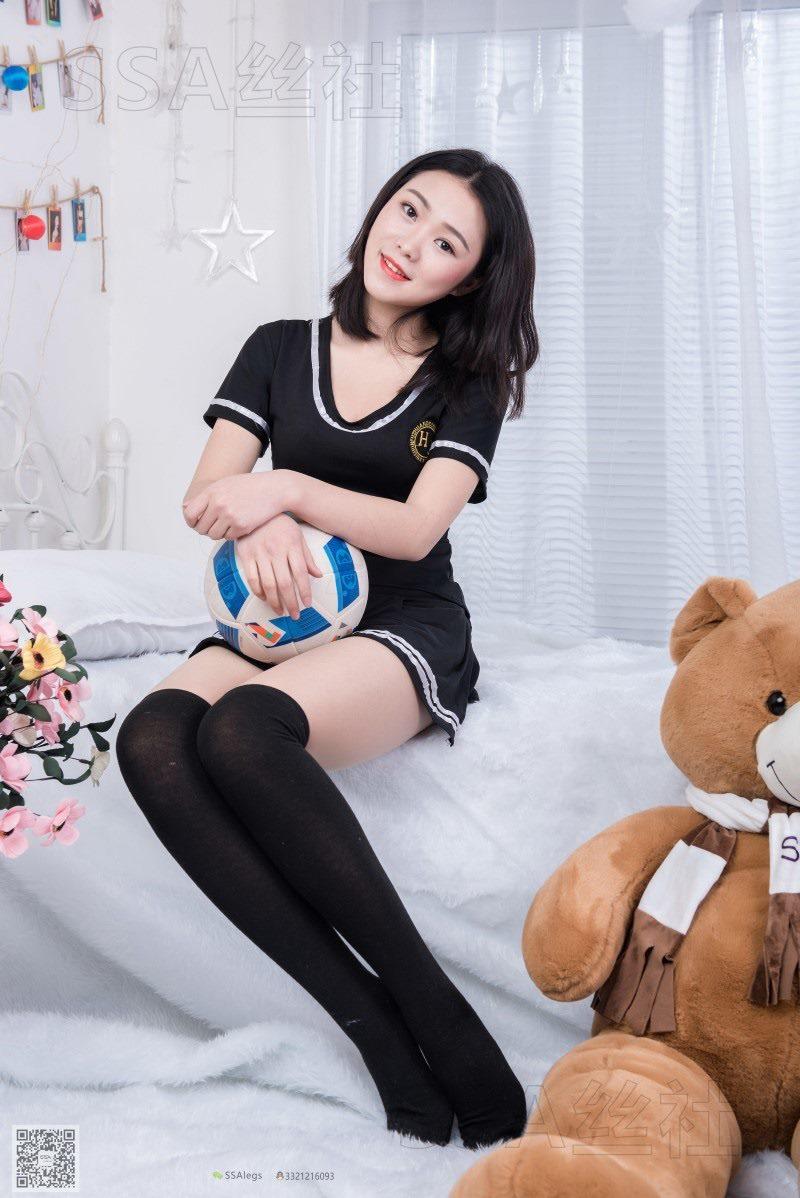[SSA丝社] NO.078 云云_足球宝贝黑丝+肉丝的诱惑裸足[99P/91.2M]